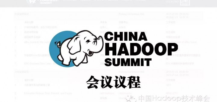 China hadoop Summit上海站 China Hadoop Summit 2015 上海站