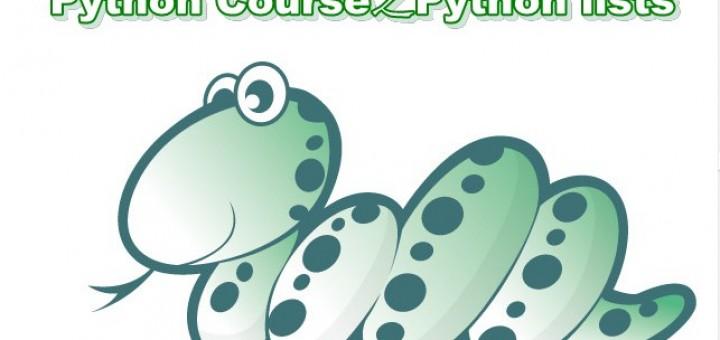 Python lists 培训